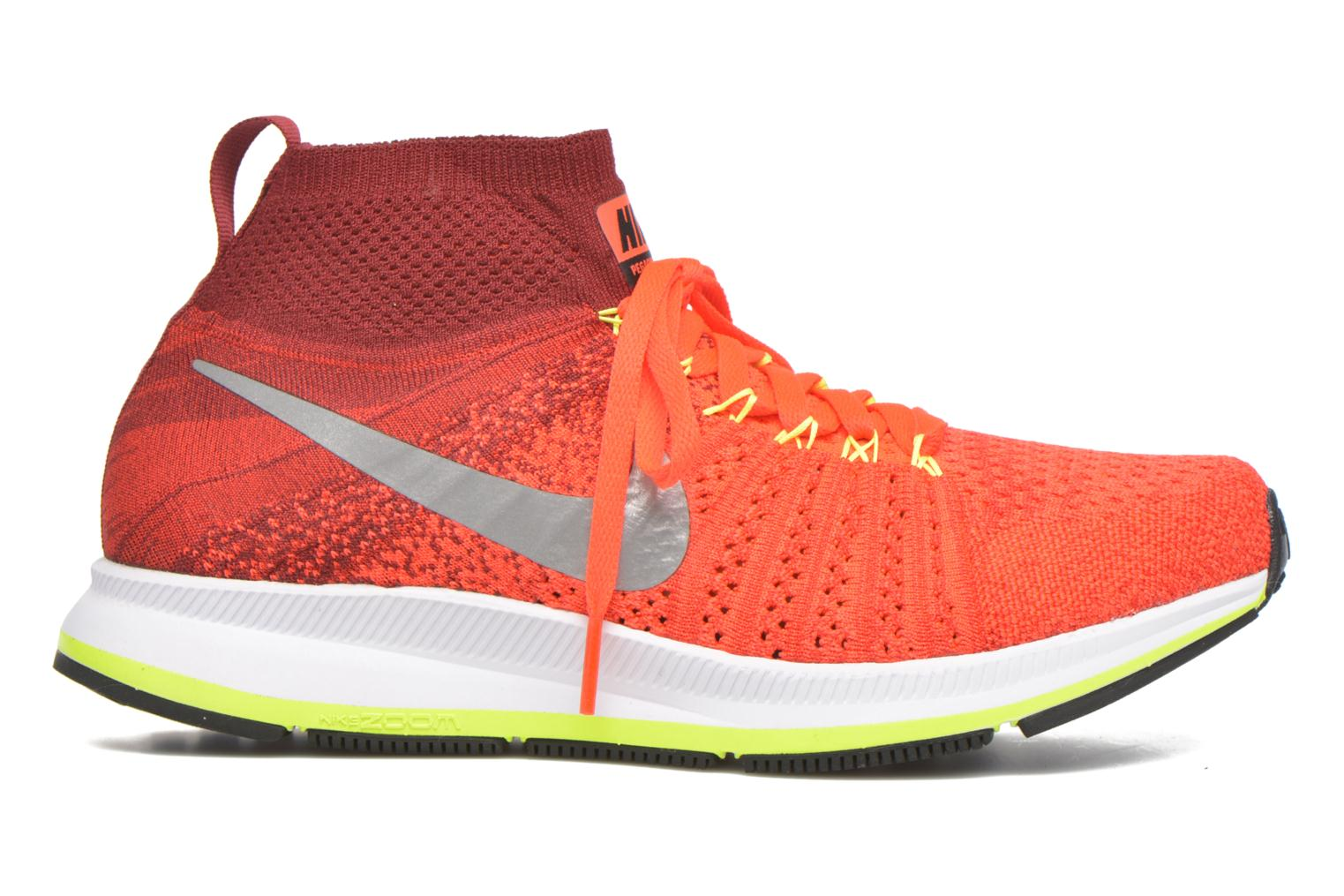 Sneakers Nike Zm Pegasus All Out Flyknit Gs Rood achterkant