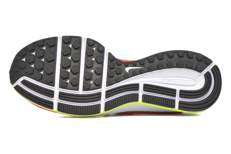 Baskets Nike Zm Pegasus All Out Flyknit Gs Rouge vue haut