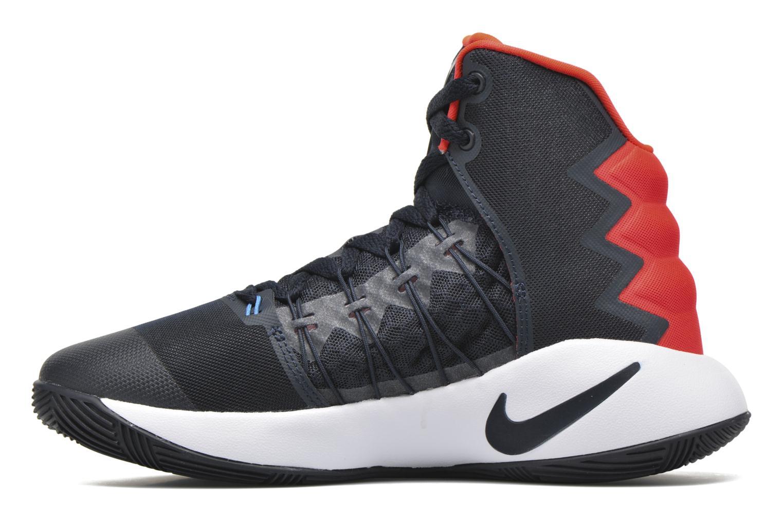 Baskets Nike Nike Hyperdunk 2016 (Gs) Bleu vue face