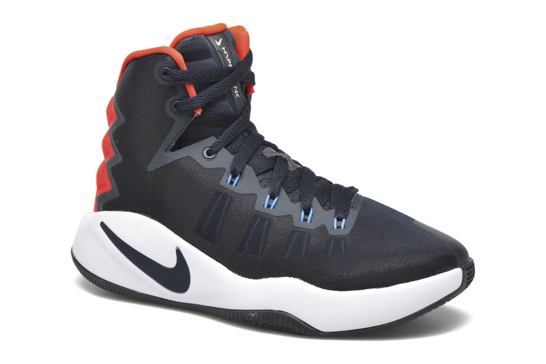 Baskets Nike Nike Hyperdunk 2016 (Gs) Bleu vue détail/paire