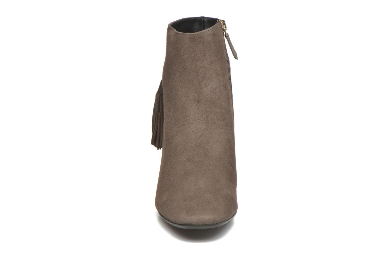 Bottines et boots L.K. Bennett CHARLOTTE Marron vue portées chaussures