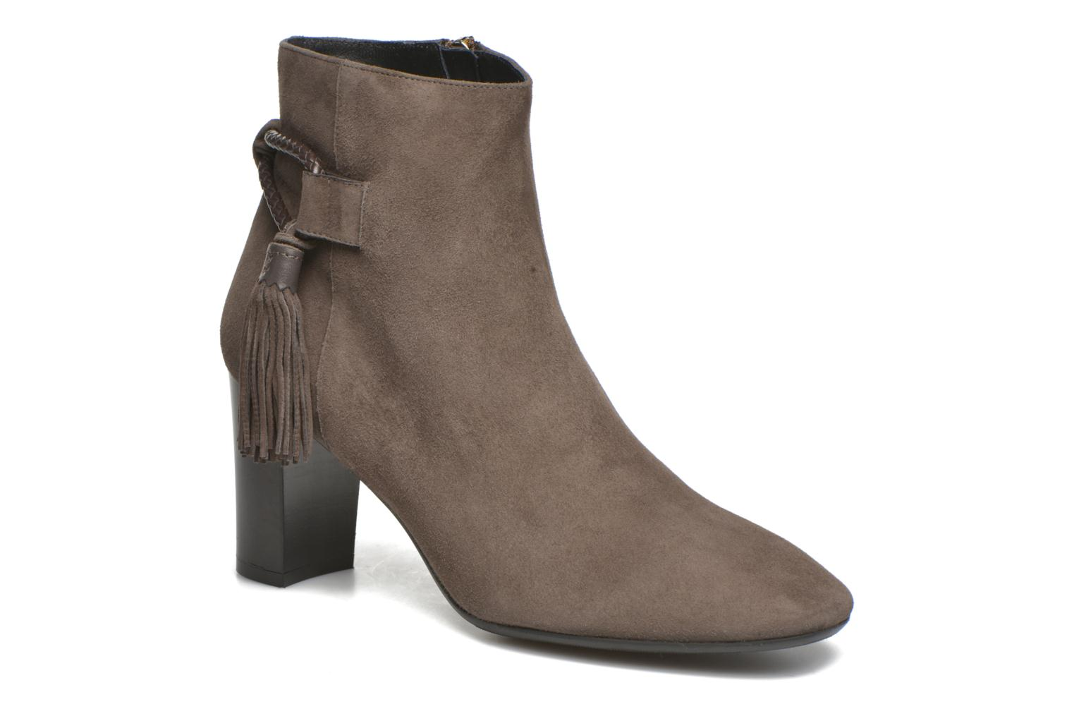 CHARLOTTE SUEDE -CHARCOAL