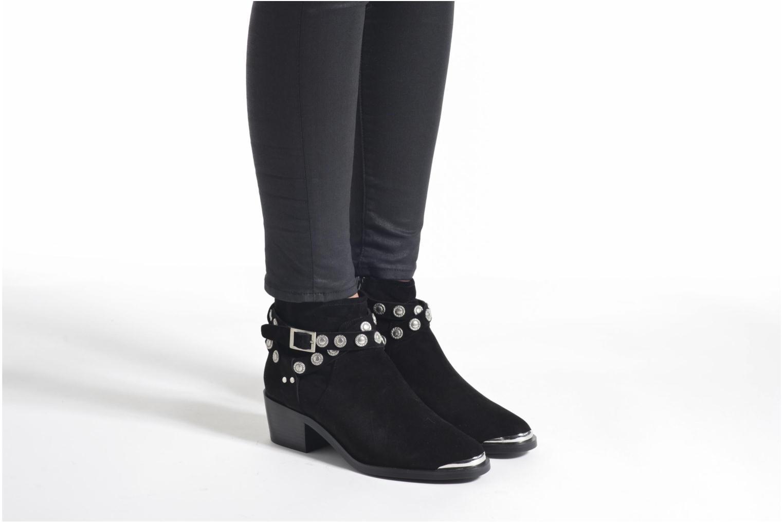 Bottines et boots SENSO Xyler II Noir vue bas / vue portée sac