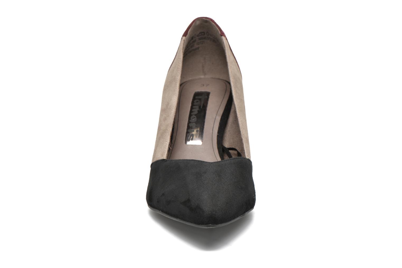 Escarpins Tamaris Adenia Multicolore vue portées chaussures