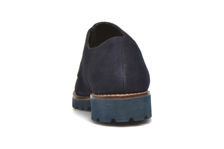 Chaussures à lacets Tamaris Alsobia Bleu vue droite