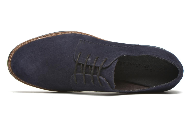 Chaussures à lacets Tamaris Alsobia Bleu vue gauche