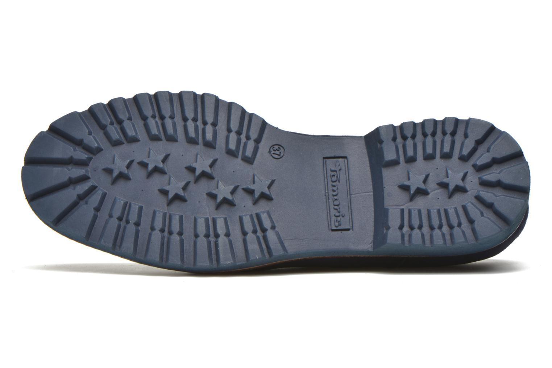 Chaussures à lacets Tamaris Alsobia Bleu vue haut