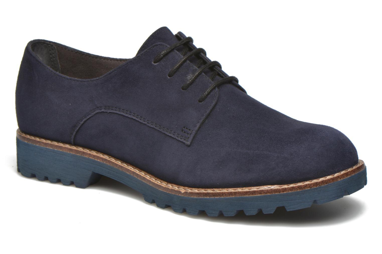 Chaussures à lacets Tamaris Alsobia Bleu vue détail/paire