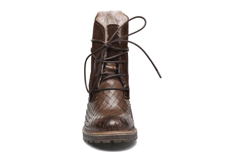 Bottines et boots Tamaris Datura Marron vue portées chaussures