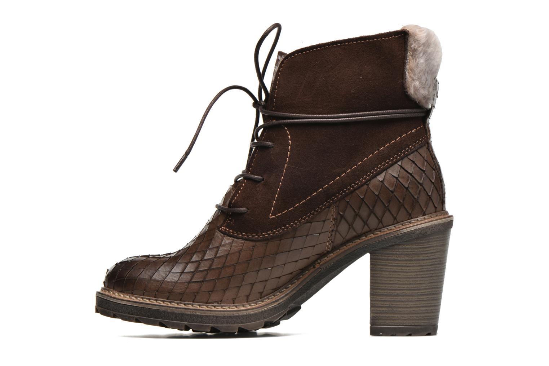 Bottines et boots Tamaris Datura Marron vue face