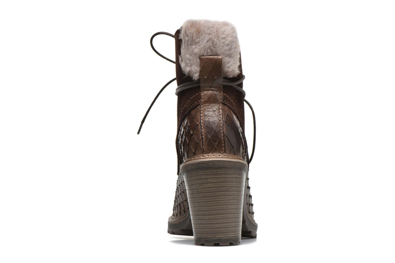 Bottines et boots Tamaris Datura Marron vue droite
