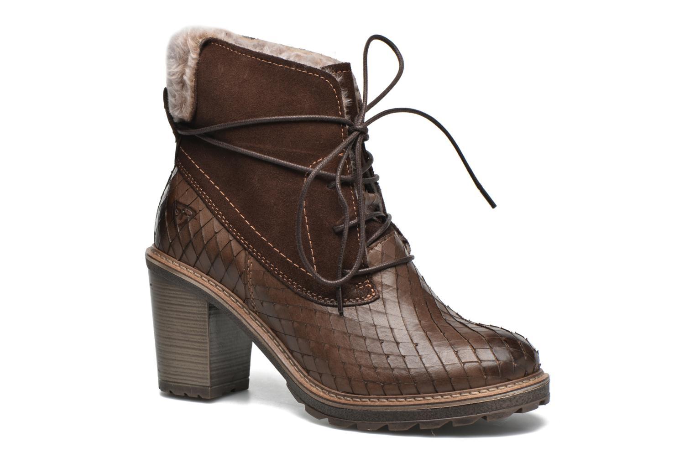 Bottines et boots Tamaris Datura Marron vue détail/paire
