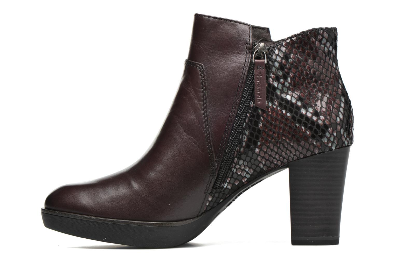 Bottines et boots Tamaris Feijoa Bordeaux vue face