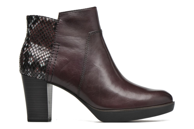 Bottines et boots Tamaris Feijoa Bordeaux vue derrière
