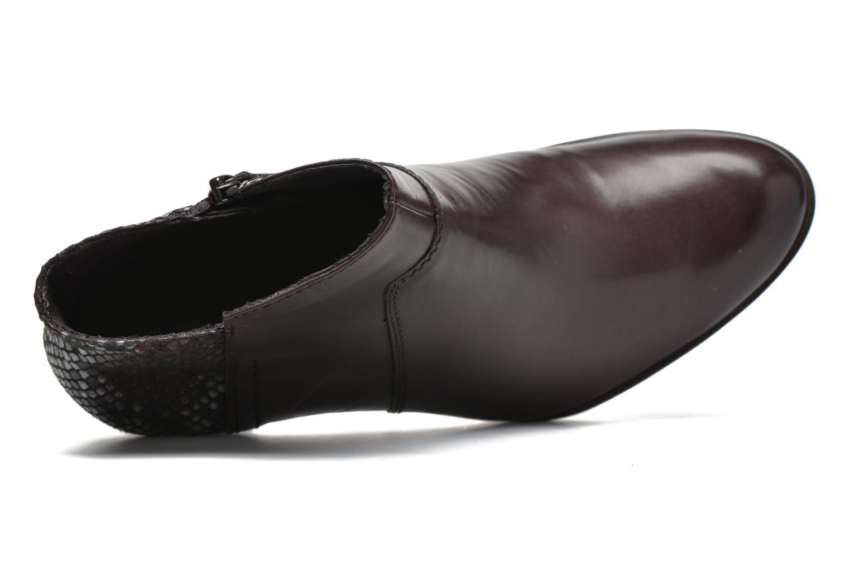 Bottines et boots Tamaris Feijoa Bordeaux vue gauche