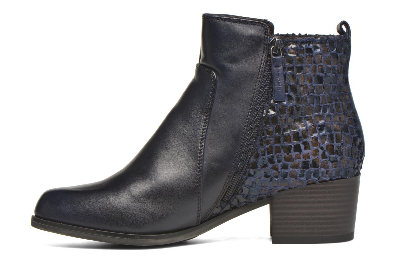 Bottines et boots Tamaris Ficus Bleu vue face