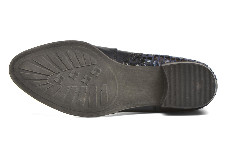 Bottines et boots Tamaris Ficus Bleu vue haut