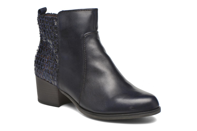 Bottines et boots Tamaris Ficus Bleu vue détail/paire