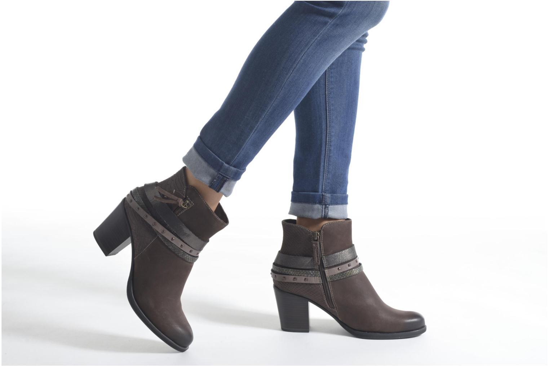 Bottines et boots Tamaris Furcrea Noir vue bas / vue portée sac