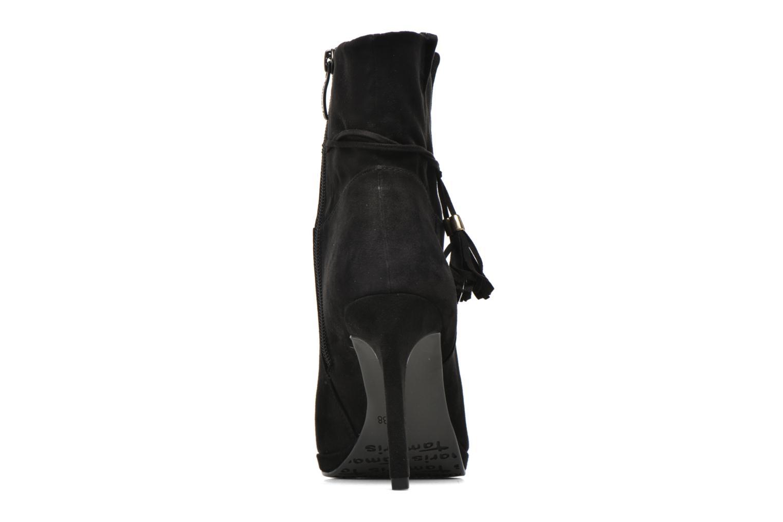 Bottines et boots Tamaris Hoodia Noir vue droite
