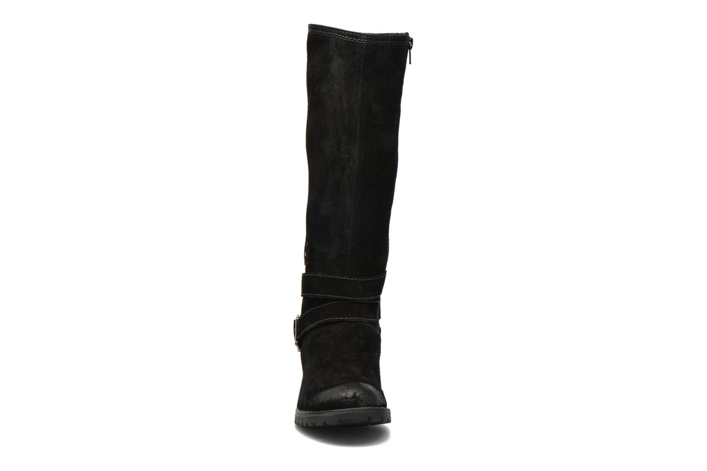 Bottes Tamaris Pavonia Noir vue portées chaussures