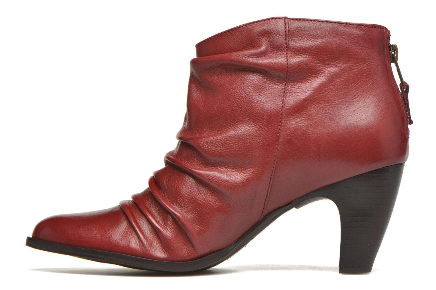 Ankle boots San Marina Macaria Red front view