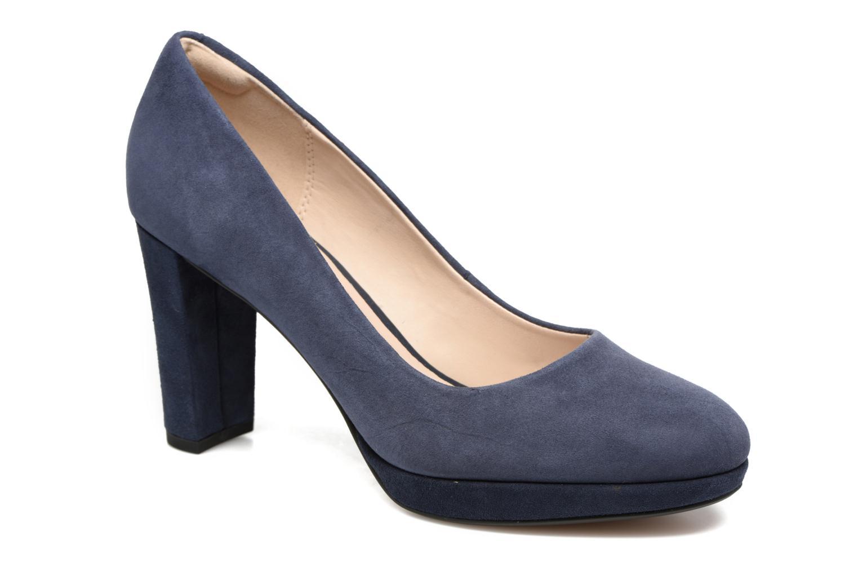 Los zapatos más populares para hombres y mujeres Clarks Kendra Sienna (Azul) - Zapatos de tacón en Más cómodo