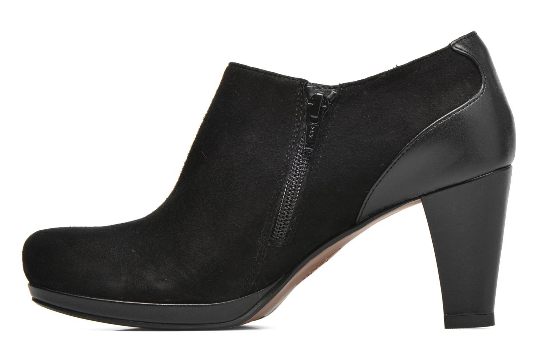 Bottines et boots Clarks Chorus True Noir vue face
