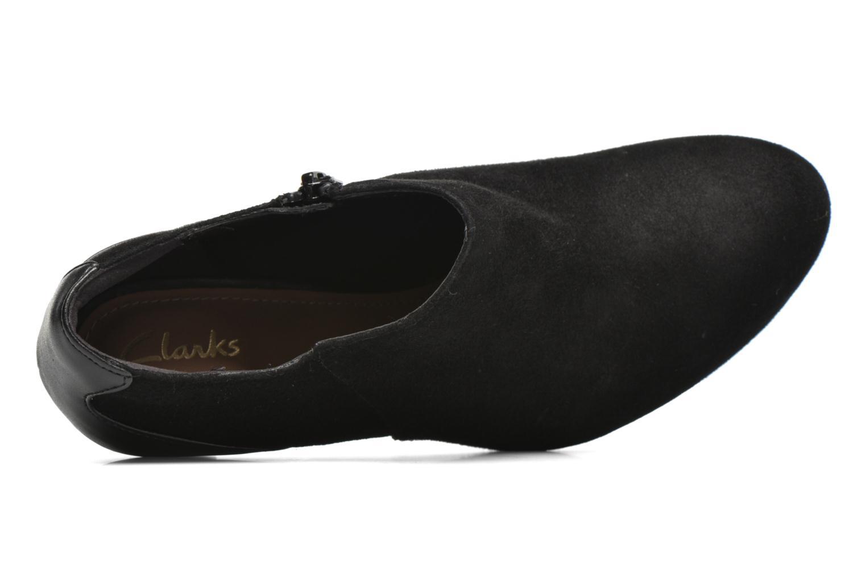 Bottines et boots Clarks Chorus True Noir vue gauche