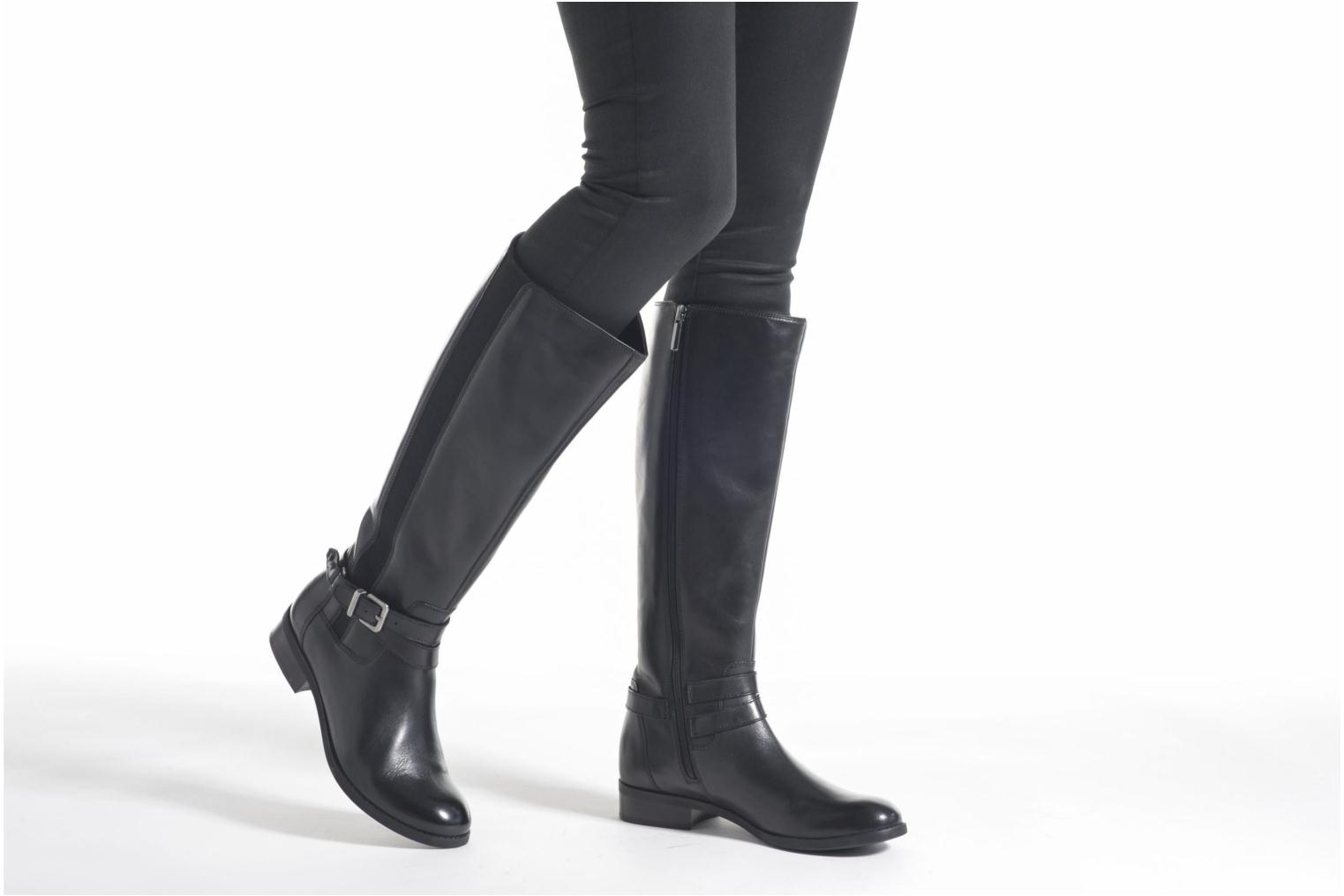 Boots & wellies Clarks Pita Vienna Black view from underneath / model view