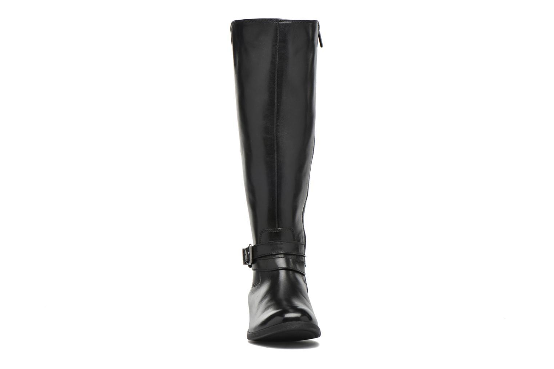 Bottes Clarks Pita Vienna Noir vue portées chaussures