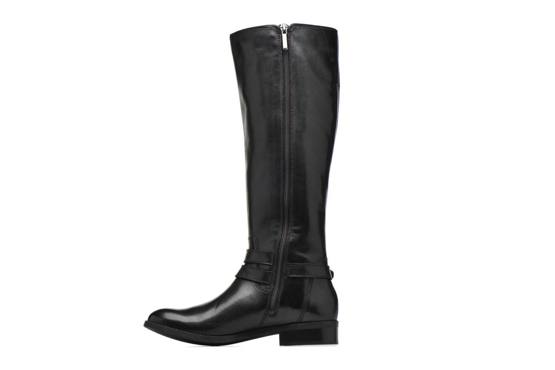Boots & wellies Clarks Pita Vienna Black front view