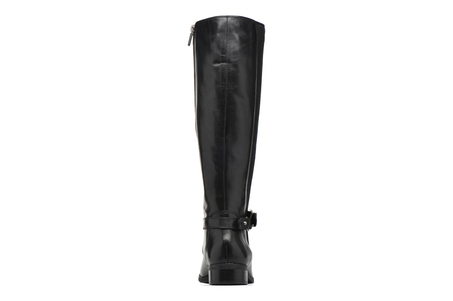 Boots & wellies Clarks Pita Vienna Black view from the right
