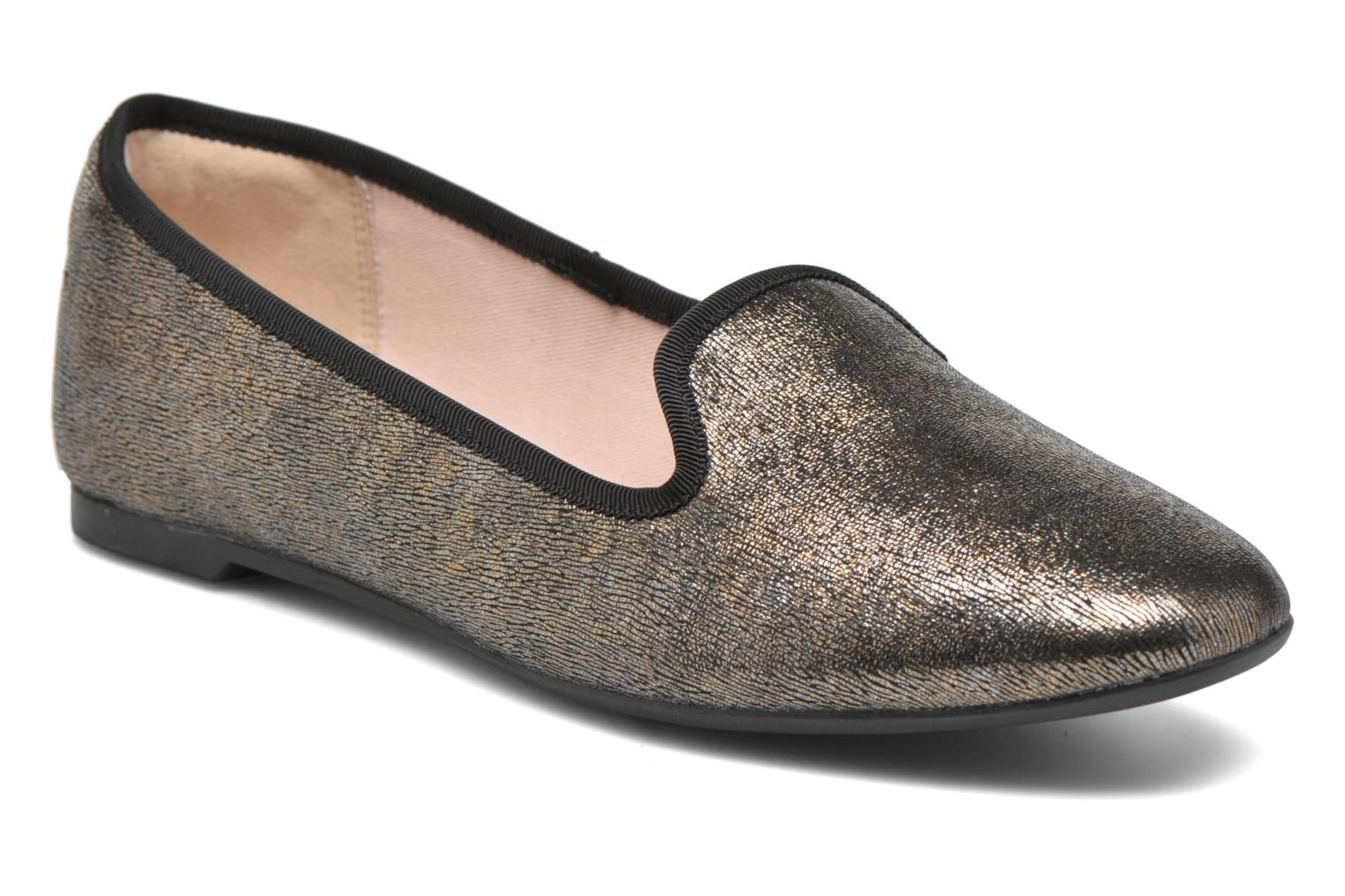 Marques Chaussure femme Clarks femme Chia Milly Bronze metallic