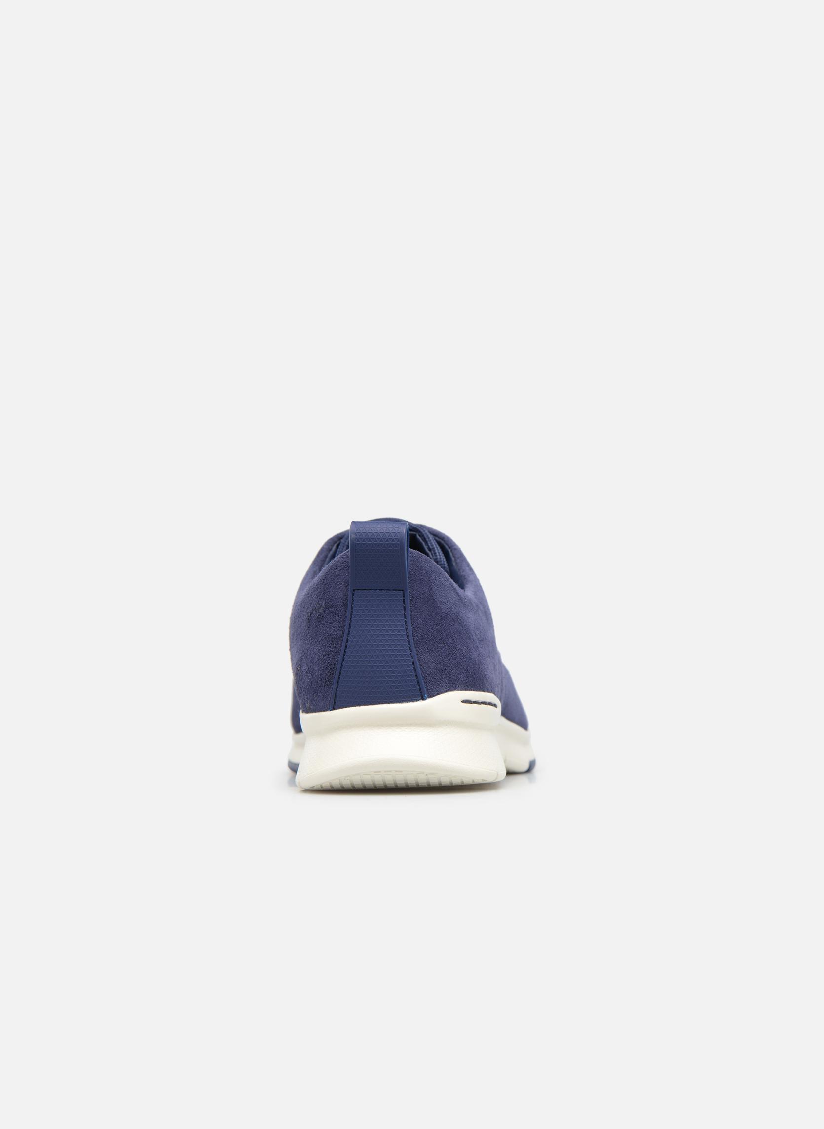 Chaussures à lacets Clarks Tynamo Walk Bleu vue droite