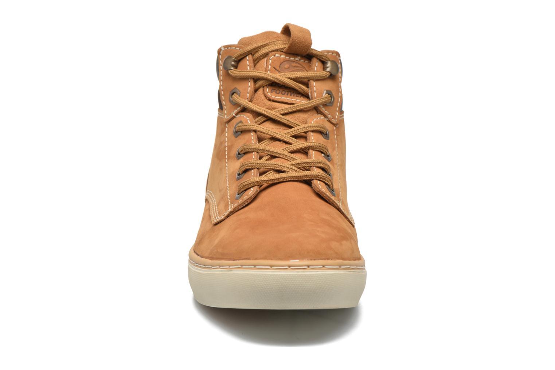 Baskets Dockers Emil Beige vue portées chaussures