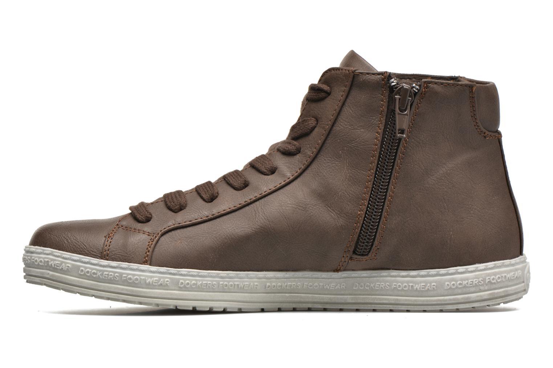 Sneakers Dockers Lore Marrone immagine frontale