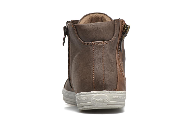 Sneakers Dockers Lore Marrone immagine destra