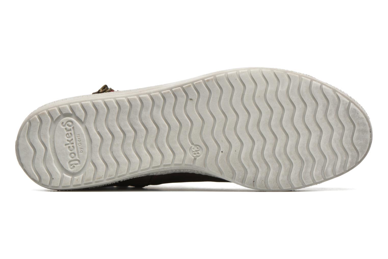 Sneakers Dockers Lore Marrone immagine dall'alto