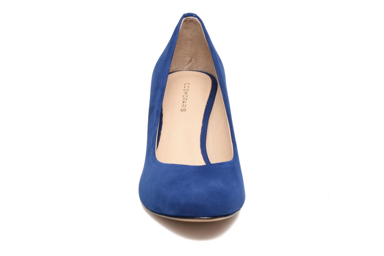 Escarpins COSMOPARIS Jenni/Nub Bleu vue portées chaussures