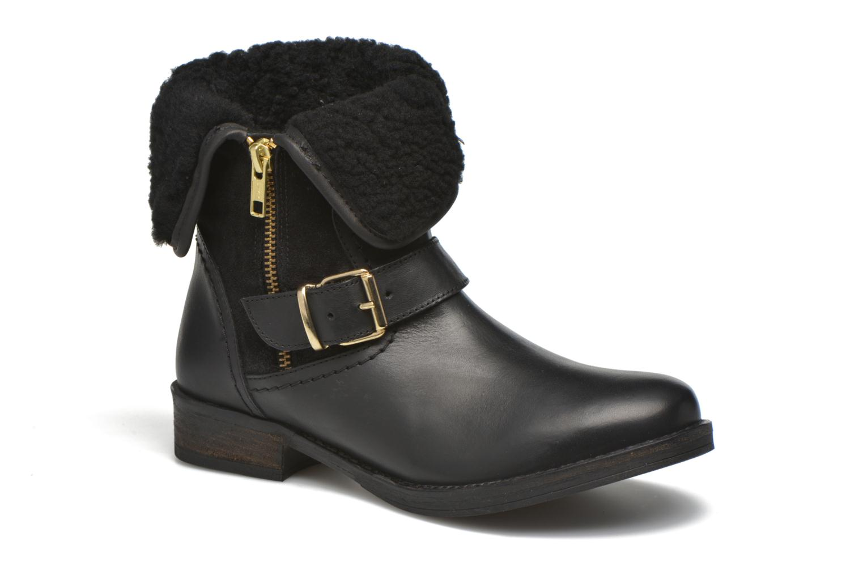 Marques Chaussure femme COSMOPARIS femme Floa/Bi Noir