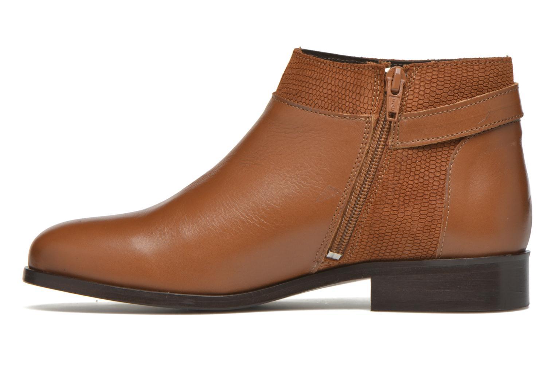 Bottines et boots COSMOPARIS Vady/Bi Marron vue face