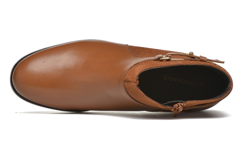 Bottines et boots COSMOPARIS Vady/Bi Marron vue gauche