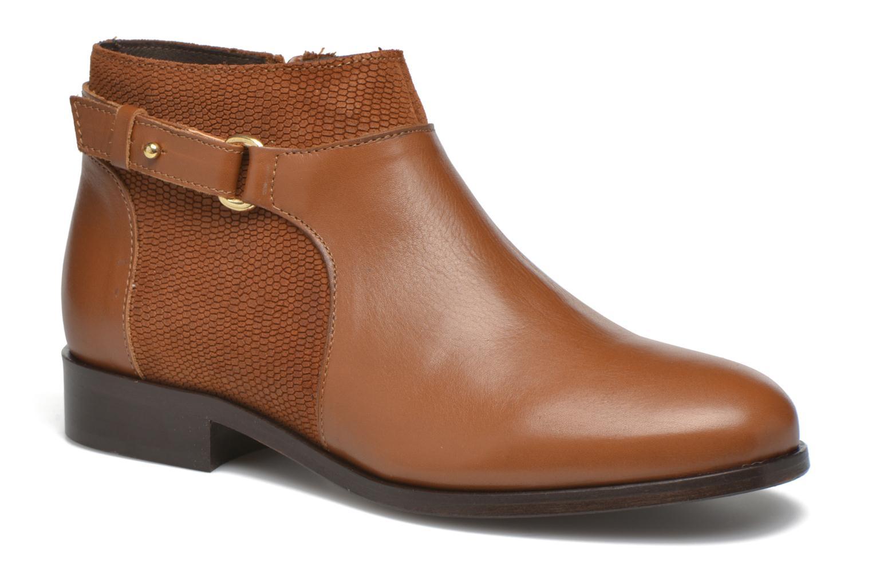 Bottines et boots COSMOPARIS Vady/Bi Marron vue détail/paire