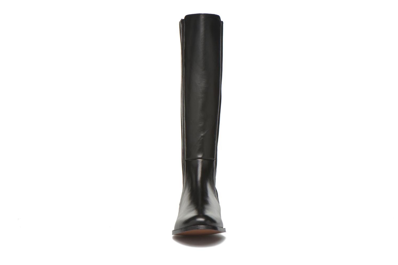 Bottes COSMOPARIS Fany Noir vue portées chaussures