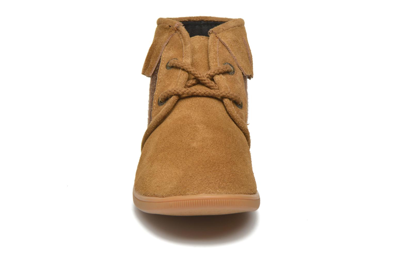Stone Hawk Suede/Woodgloss CAMEL/BROWN