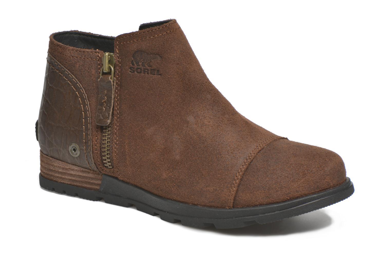 Bottines et boots Sorel Sorel Major Low Marron vue détail/paire