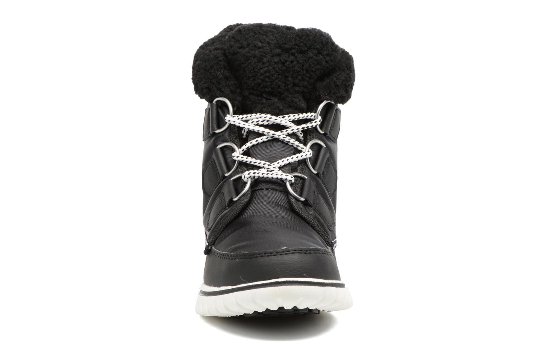 Bottines et boots Sorel Cozy Carnival Noir vue portées chaussures