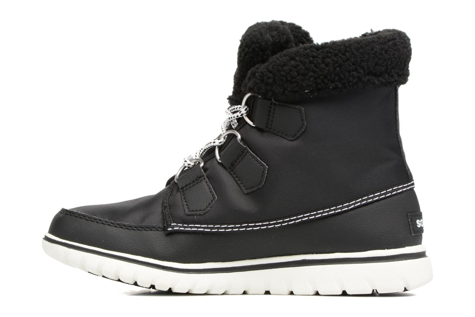 Ankle boots Sorel Cozy Carnival Black front view