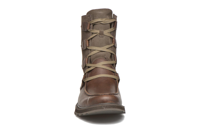 Bottines et boots Sorel Madson Original Marron vue portées chaussures